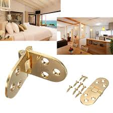 kitchen cabinet door hinge steel oval shape gold tone folding cabinet door kitchen cupboard