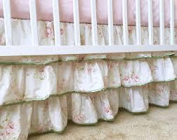 Shabby Chic Crib Bumper by Shabby Chic Crib Etsy