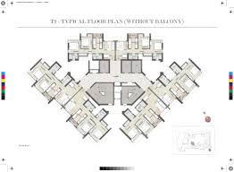 Absolute Towers Floor Plans by Kalpataru Paramount At Thane Mumbai Price Plans Reviews