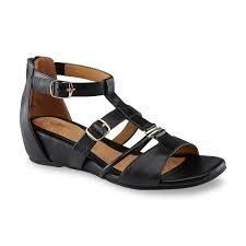 Comfort Sandals For Women I Love Comfort Women U0027s Liana Black Wedge Sandal Shop Your Way