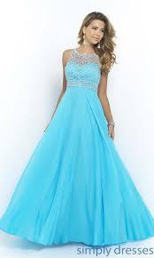 royal blue chiffon long evening dress from zeal style