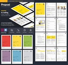 contoh desain proposal keren 15 best business proposal templates for new client projects