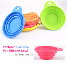 Cheap Water Storage Containers G97 High Quality Cheap Dog Bowl Dog Cat Pet Travel Bowl Silicone