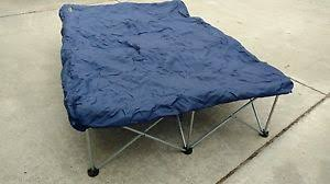 cabelas camping queen size folding air mattress bed frame ebay