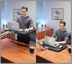 standing desk attachment tripod portable standing laptop desk