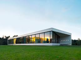 glass box architecture architecture simple contemporary house in the netherlands