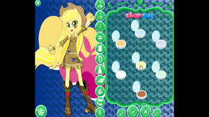 applejack hairstyles my little pony equestria girls rainbow rocks applejack dress up