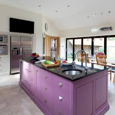 purple cabinets kitchen painted kitchen island purple painted kitchen cabinets blue painted