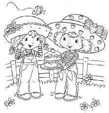 strawberry shortcake coloring pages to print strawberry shortcake coloring pages