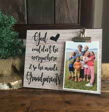 Meme Grandmother Gifts - god couldn t be everywhere so he made grandparents gift for grandma