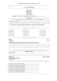 Download Resume Templates For Free Download Resume Free Resume Template And Professional Resume