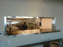 Kitchen Pass Through Design by Stainless Pass Through Window Jnl Stainless Inc