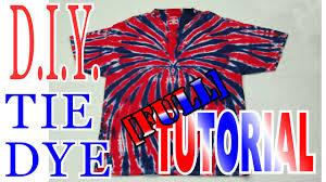 diy tie dye spider shirt long tutorial 51 youtube