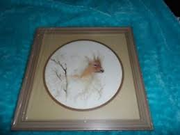 home interiors deer picture homco home interiors deer picture with frame ebay