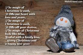 the magic of is merry message