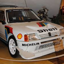 peugeot 205 group b race cars