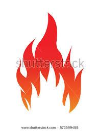 fire flame fire logo vector template stock vector 282483356