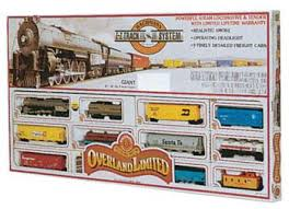 overland limited ho scale model set 00614 by bachmann 00614