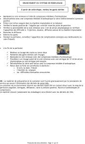 rincage pulsé chambre implantable protocoles de soins infirmiers pdf
