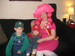 wordless wednesday mario luigi u0026 toadette halloween costumes a