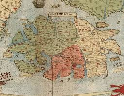 One Piece World Map David Rumsey Historical Map Collection Largest Early World Map
