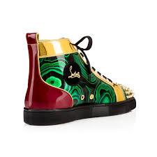 louboutin green shoes
