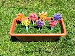 Garden Diy Crafts - cardboard garden kids easy diy craft