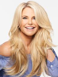 layered extensions 21 clip in extensions by christie brinkley hair2wear