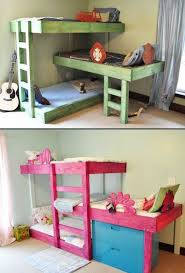 Bunk Beds Designs For Kids Rooms by 31 Cool And Practical Bunk Beds For More Than Two Kids Digsdigs