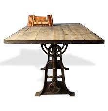 Reclaimed Wood And Iron Dining Table Amazon Com Monterrey Industrial Loft Iron Reclaimed Wood
