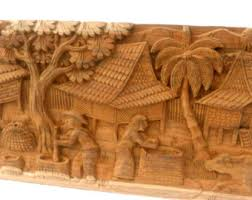 wood sculpture decor wood carving etsy
