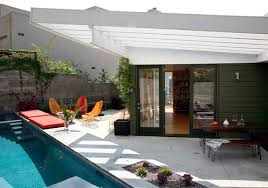 backyard architecture small backyard design with pool idea by bestor architecture