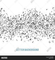 abstract black alphabet ornament image photo bigstock