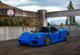 porsche custom paint voodoo blue porsche 918 spyder brings the magic on custom wheels