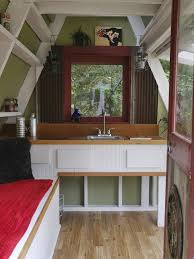 building an a frame cabin damn simple tiny house costs just 1 200 to build yourself huffpost