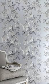 jocelyn warner cascade silver wallpaper paper room