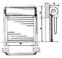 Overhead Roll Up Door Rolling Steel Doors Garage Doors Dock Equipment Gate Systems