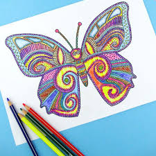 Coloring Pages Of Free Printable Coloring Pages For Adults by Coloring Pages Of