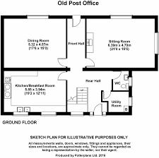 5 bedroom cottage for sale in old post office little bavington