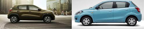 datsun renault spec comparison renault kwid vs datsun go petrol news gallery