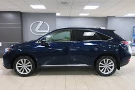 lexus rx 350 blue 2015 lexus rx 350 awd sportdesign 34 995 québec boulevard lexus