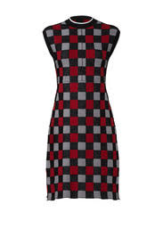 mod plaid dress by marni for 210 rent the runway