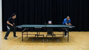 table tennis and ping pong how to do a side spin pendulum serve in table tennis may 2018