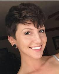 short wavy pixie hair ideas about long wavy pixie cut cute hairstyles for girls