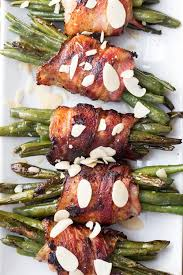 bacon wrapped green beans green healthy cooking
