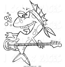 royalty free instrument stock coloring page designs