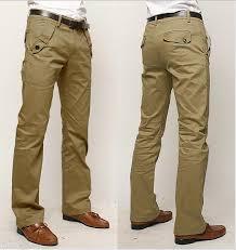 business style high quality men dress pants men cotton slim fit