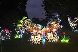 Whitnall Park Botanical Gardens Lantern Festival Opening At Boerner Botanical Gardens Oct