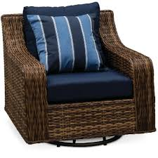 swivel outdoor patio wicker chair tortola rc willey furniture