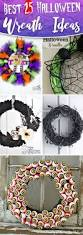 black feather wreath halloween top 25 halloween wreath ideas for 2017